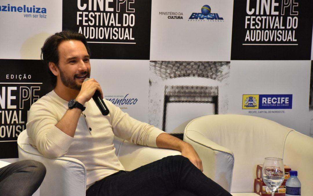 Rodrigo Santoro fala sobre carreira no exterior em coletiva do Cine PE