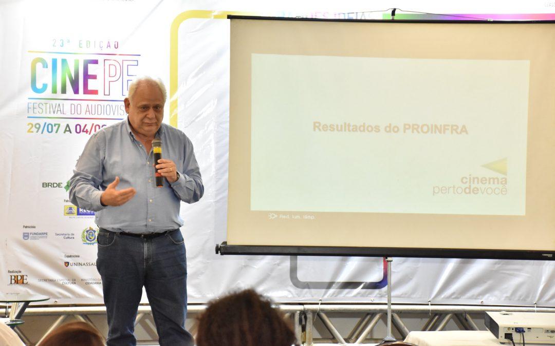 Selmo Kaufaman ministrou seminário sobre o mercado audiovisual